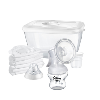 Tommee Tippee Closer To Nature Manual Breast Pump, BPA Free