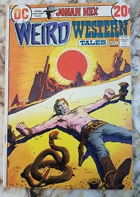 Weird Western Tales #14 Vg+ Early Jonah Hex 1 Death Of Iron Jaws Bronze Comic 1