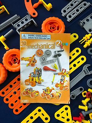 Meccano #0261 Mechanical Construction Set + Instruction Booklet