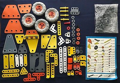 Meccano Flexible Build and Play Construction Set #9103 INCOMPLETE