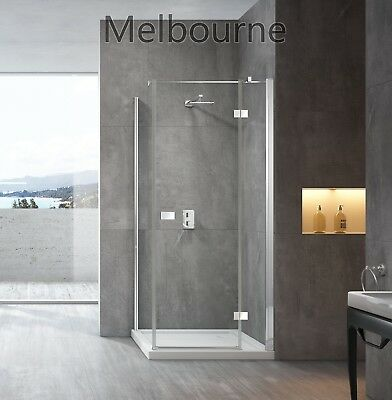 Nano Easy Clean Glass 1000 Frameless Shower Screen  1000X1000 Shower Screen