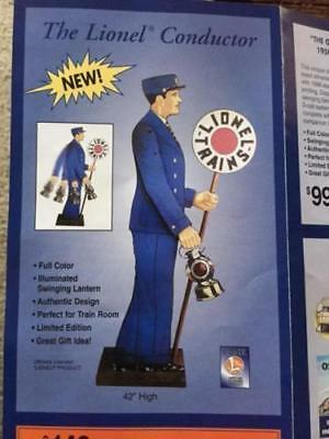 LIONEL REPRO No. 24 TRAINMAN  CONDUCTER SWINGING LANTERN DEALER STORE DISPLAY
