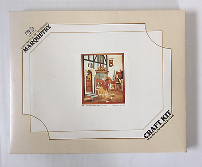 Marquetry Craft Kit The Old Curiosity Shop Advanced Level Unused  Free Postage