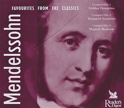 Mendelssohn - Favourites From The Classics - 3 CDs - Reader's Digest