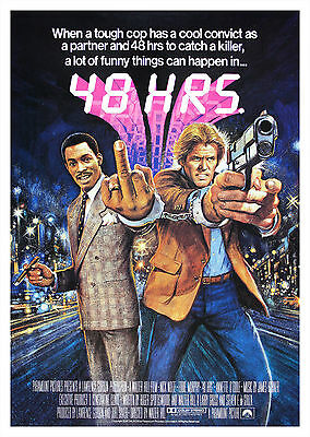 48 Hrs. (1982) - A2 A3 A4 POSTER ***LATEST BUY 1 GET 1 FREE OFFER***
