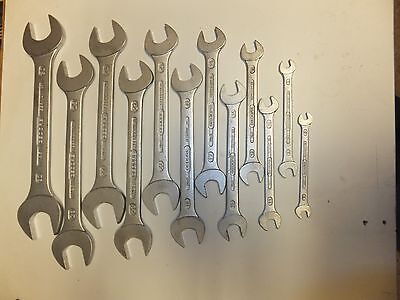 set of 12 Gedore spanners, open ended,6mm to 32mm