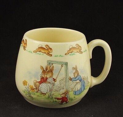 Vintage Royal Doulton Bunnykins Swinging & Jump Rope