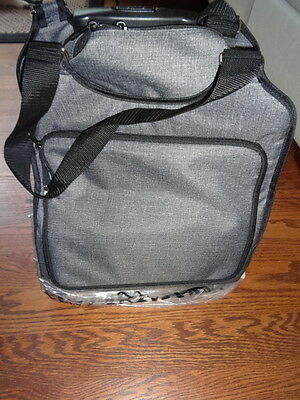 THIRTYONE Thirty One 31 Gifts Away We Go Roller BRAND NEW Charcoal Crosshatch