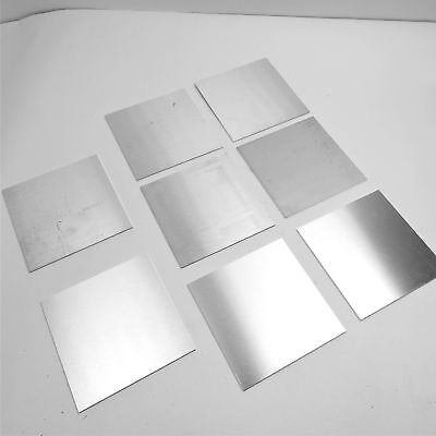 ".125"" thick  Aluminum SHEET  9.125"" x 10.5"" Long  Plate QTY 8 Flat  sku 174978"
