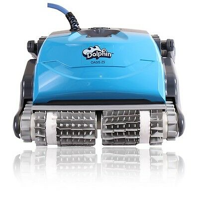 Dolphin Premier Robotic Pool Cleaner With Oversized Bag