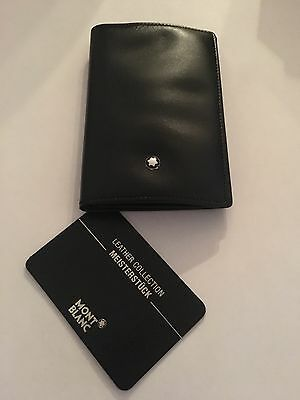 MontBlanc Business Card Holder Black