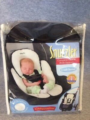 Kiddopotamus Summer Snuzzler Baby Head And Body Support For Car Seat
