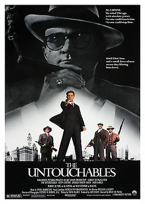 The Untouchables (1987) - A2 POSTER ***LATEST BUY 1 GET 1 FREE OFFER***
