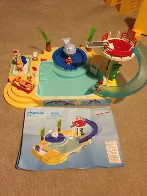 Playmobil 5433 swimming pool set with instructions 18 - Playmobil swimming pool best price ...