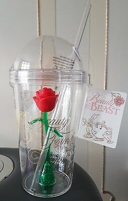 Disney Primark Beauty And The Beast Enchanted Rose Cup