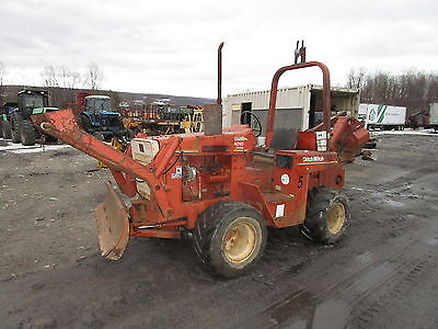 Ditch Witch 4010 Trencher RUNS EXC VIDEO! Cable Plow DEUTZ DIESEL