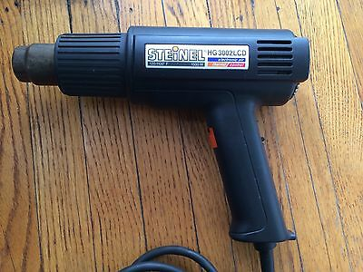 Steinel Hg3002Lcd 1500W 120-1100F Industrial Heat Gun Serviced Power Switch