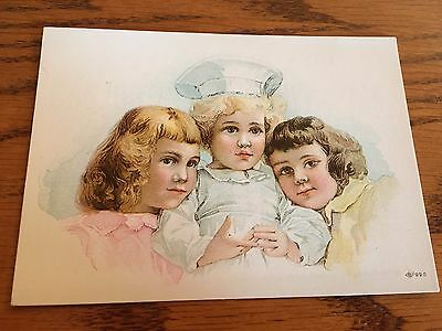 Victorian Trade Card MASURY RAILROAD PAINT McKee Bros. Hardware Hagerstown MD..