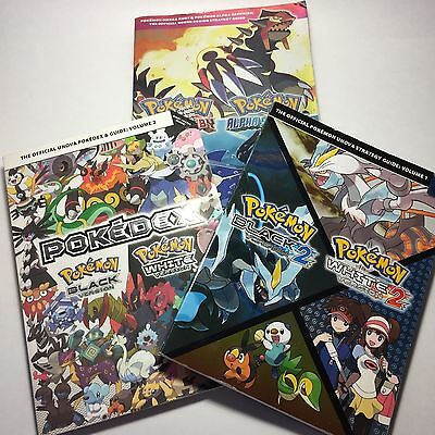 Lot of 3 Official Pokemon guides book