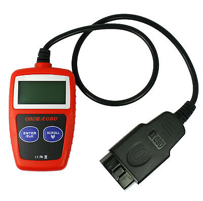 Mini LCD Vehicle OBDII OBD2 EOBD CAN Scan Tool Diagnostic Scanner Code Reader