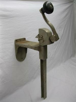 Edlund Can Opener No 8 Kitchen Mount Industrial Crank Heavy Duty Old Style