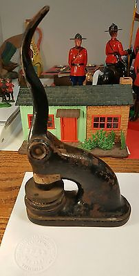 Vintage Cast Iron 1927 The Imperial Auto Stage Co Corporate Seal Embosser Stamp