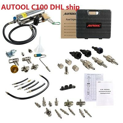 AUTOOL C100 Automotive Non-Dismantle Fuel System Injector Cleaner C 100 DHL