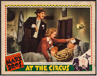 Marx Brothers At The Circus 1939 Lobby Card