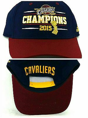 9300293fdc3 Cleveland Cavaliers New Adidas NBA Finals Champs Blue Red Era Snapback Hat  Cap