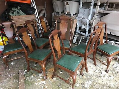 Set Of Eight Antique Chairs