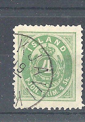 ICELAND Officials: 1873 p.14 x 13½ 4sk - 96159