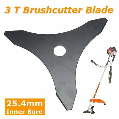 3 Tooth Brush Cutter Brushcutter Trimmer Blade Trimmer Strimmer Lawn Mower 3 T