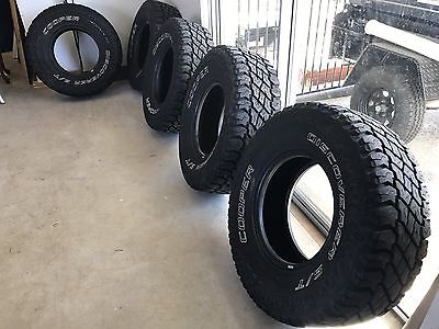 SET OF 5 Cooper ST MAXX 285/75R16 Tyres. 33s.  Note:  Does NOT Include Rims!!!