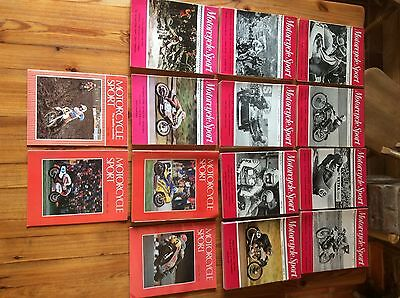 MOTORCYCLE SPORT Magazines - 1969 -1980