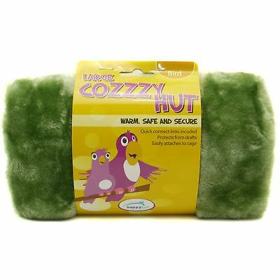 Happy Pet Products Cozzzy Bird Hut (Assorted Colours)