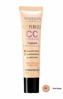 Bourjois 123 Perfect Cc Cream Spf 15 Colour Correction -  33 Rose Beige