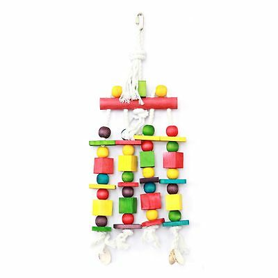 Happy Pet Products Blocks N Beads Parrot Toy