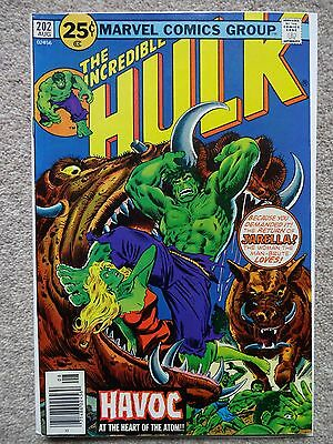 THE INCREDIBLE HULK No. 202 August 1976