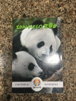 San Diego Zoo Centennial Guidebook New Gorgeous