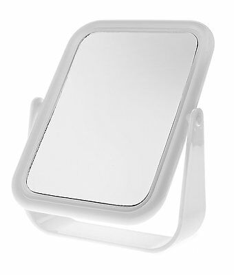 Ba2046 Blue Canyon Plastic Mirror Oblong White Standing [3633]