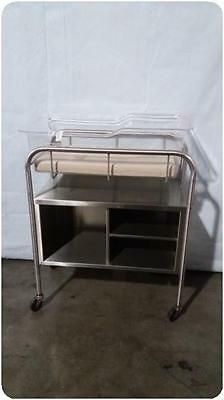 Stainless Steel Infant Baby Bassinet@ (155381)