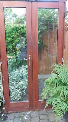 Solid Wood Patio Doors Picclick Uk