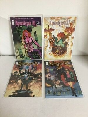 Adventures Of Apocalypse Al 1-4 Lot Set Run Nm Near Mint Image Comics