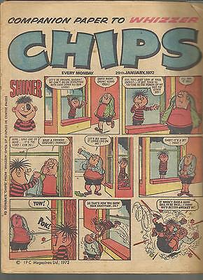 CHIPS Comic Janauary 29th 1972  ***FREE POSTAGE*** Deals for multibuys