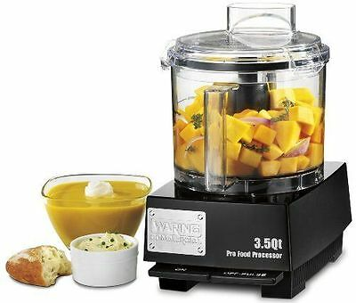 New Waring Wfp14Sw Commercial Food Processor 3.5 Quart