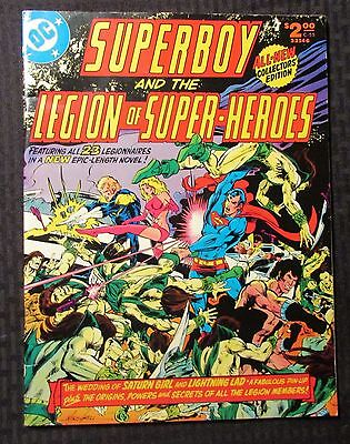1976 DC Treasury C-55 FN+ 6.5 SUPERBOY and the Legion of Super-Heroes