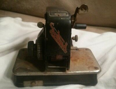 SENTINEL # 53587 CHECK WRITER ANTIQUE VINTAGE Rochester, NY