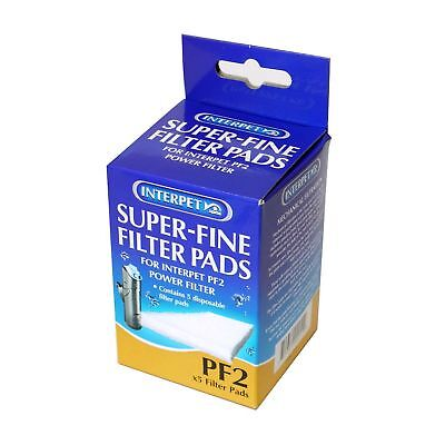 Interpet Super Fine PF2 Filter Pads (Pack Of 5)