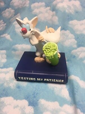 "Pinky and the Brain ""Testing My Patience"" Warner Bros. Studio Store figure"