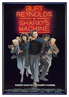 Sharky's Machine (1981) V2 - A2 POSTER ***LATEST BUY 1 GET 1 FREE OFFER***